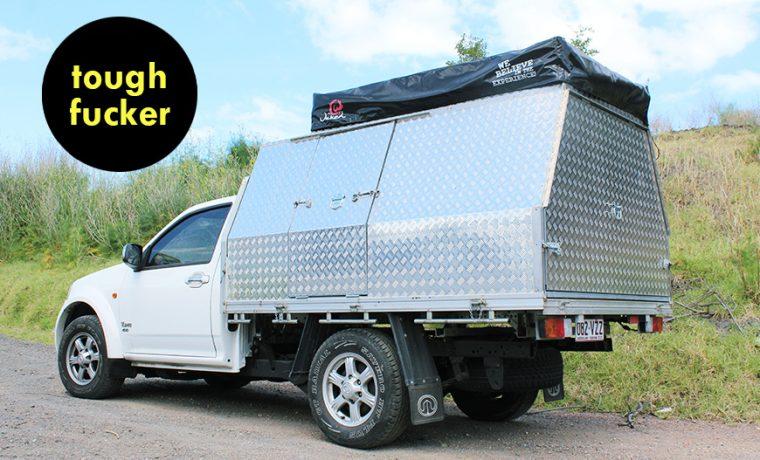 4WD Cabin King 2-Sleeper – Melbourne Campervan Hire